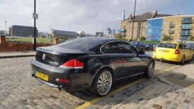BMW 630i for sale, full service history, lots of factory fitted extras