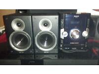 PANASONIC SA-AKX50 WITH tibo audio dj pro1000 speakers £80 O N O LOOK AT OTHER ADDS THANKS