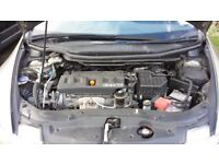 Honda Civic ivtec 1.8 litre, semi-automatic, 2008, panoramic sunroof