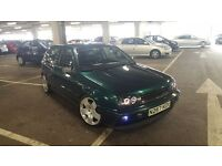 volkswagen golf vr6 2.8 dragon green