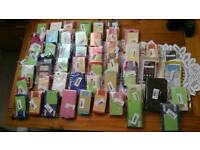 Brand new 50 joblot of phone cases.can post for extra £2.85 if payment made through paypal