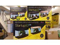 Fish Tank Startup Diversa 80 Straight LED black hood