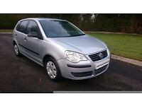2007 VOLKSWAGEN POLO 1.2...FULL YEARS MOT...FINANCE THIS CAR FROM £17 PER WEEK...MINT CONDITION...