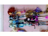 Job lot of dolls and play sets