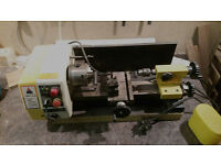 Small benchtop metal lathe