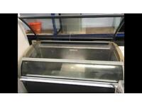 Commercial Glass chest freezer