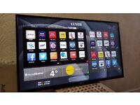BRAND NEW BOXED LUXOR 49-inch SUPER Smart 4K UHD LED TV,built in Wifi,Freeview HD