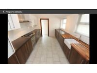 Kitchen cabinets including integrated fridge x 2 and integrated dishwasher