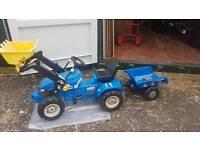 Childrens heavy duty tractor/trailer