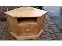 Pine TV stand/Cabinet
