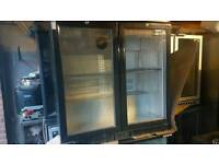 Commercial undercounter bar drinks chiller fully working