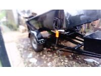 electric tipper dump trailer