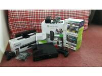Xbox 360 250GB bundle with 27 games