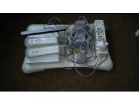 Wii console + Wii Fit Balancer +11 Games POSTAGE available