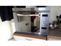 Bosch integrated, combination microwave, grill, fan oven