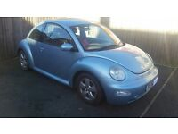 VW Bettle 1.9TD with Full Service History and 7 Months MOT
