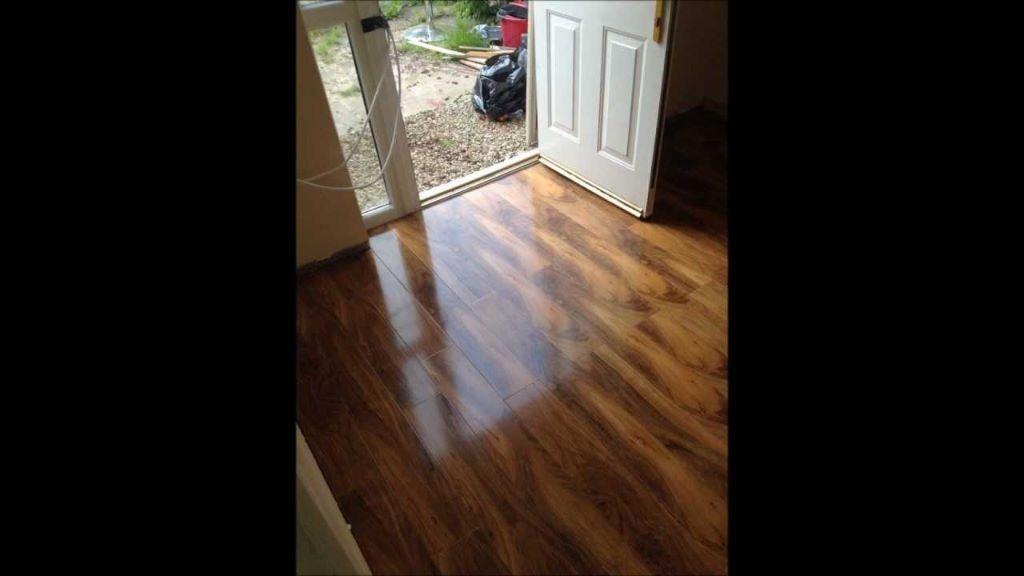 Walnut Effect Laminate Flooring Home Safe