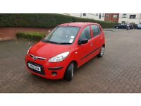 Lovely red Hyundai i10 for sale, low mileage no faults.