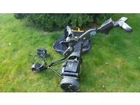POWERKADDY FREEWAY II DIGITAL GOLF TROLLEY WITH LITHIUM BATTERY AND CHARGER