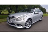 Mercedes-Benz C Class 2.1 C220 CDI BlueEFFICIENCY Sport 4dr LOW MILEAGE + BLUETOOTH