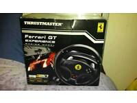Ps2 and ps3 Ferrari GT Experience Steering wheel