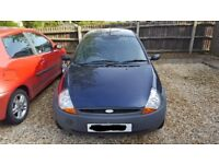 Ford KA For Sale. Nice little, cheap runner. Low mileage for age. Fiat Punto also available.