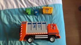 Playmobile dustbin lorry