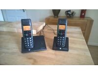 BT Diverse 7110 Plus DECT Cordless Phone Twin Pack in excellent condition.