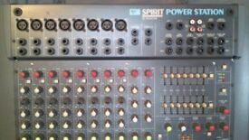 SOUNDCRAFT SPIRIT POWERSTATION AND OTHER EQUIPMENT