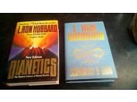 Scientology books Dianetics L. RON HUBBARD