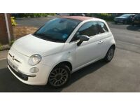fiat 500c lounge convertible 1.2 16v low mileage excellent runner 2009 (59)