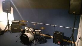 Solo Drum Rehearsal Studios || Rates & Deal || Bow, East London