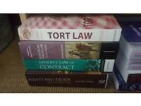 10+ law textbooks and statute books - bundle deal