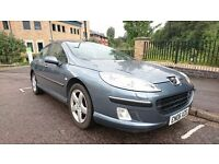 Peugeot 407 Executive HDi 2.0 4dr only 1 former keeper from new mot until 28/03/17