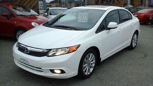2012 Honda Civic EX-L (A5), GPS, TOIT, Bluetooth, MAGS