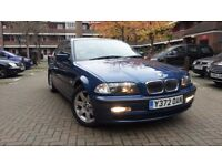 BMW E46 2.0 PETROL MANUAL 2001 MOT MAY 2018 FULL SERVICE HISTORY GOOD CONDITION
