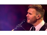 Gary Barlow tickets x2 at BIC for Friday 1st June - £185 - Near the front!
