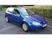 Vw Golf Gt Tdi 2.0 6speed 5door. R32 blue