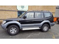 Toyota Land Cruiser Colorado. 3.4 LPG converted. Automatic.