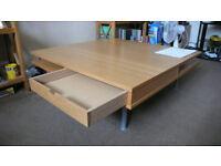 IKEA Kaffatorp/TOFTERYD coffee table wood effect