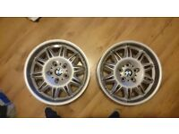 Genuine BMW e36 m3 staggered sunflowers 7.5j 8.5j Alloy wheels