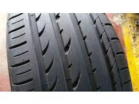 245 40 18 1 x tyre Yokohama Advan Sport ZPS Run Flat