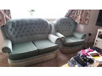 Free sofa and arm chair