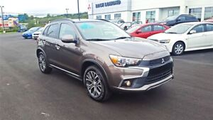2017 Mitsubishi RVR GT - LOADED & BRAND NEW for $213 biweekly!