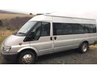 Ford Transit Minibus/Camper/Race Van