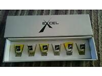 New Excel six liquire shot glasses