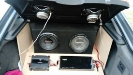 FULL IN CAR AUDIO SETUP ONLY £500 ONO