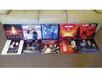 COLLECTION OF 10 LASER DISCS FILMS