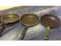 4 Frying Pans