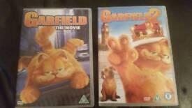Children's DVD'S Garfield